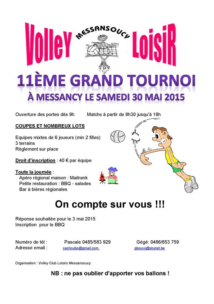 TOURNOI LOISIR 2015